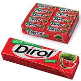 Жевательная резинка DIROL «Арбузная свежесть», без сахара, 10 подушечек, 13,6 г