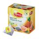Чай LIPTON (Липтон) «Tropical Fruit», черный с ананасом и цедрой грейпфрута, 20 пирамидок по 2 г