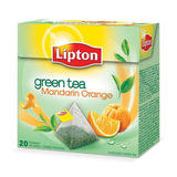Чай LIPTON (Липтон) «Green Mandarin Orange», зеленый, 20 пирамидок по 2 г