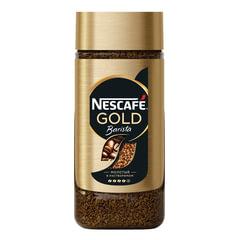 Кофе растворимый NESCAFE «Gold Barista», молотый в растворимом, 85 г, стеклянная банка