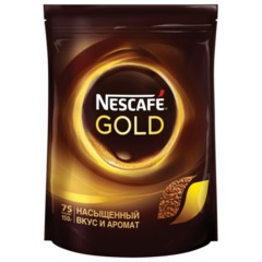 Кофе растворимый NESCAFE «Gold», 150 г, мягкая упаковка