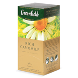 ��� GREENFIELD «Rich Camomile» («����������»), ��������, 25 ��������� � ��������� �� 1,5 �