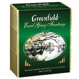 ��� GREENFIELD «Earl Grey Fantasy», ������ � ����������, 100 ��������� � ��������� �� 2 �