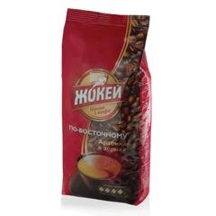 Кофе в зернах ЖОКЕЙ «По-восточному», 500 г, вакуумная упаковка