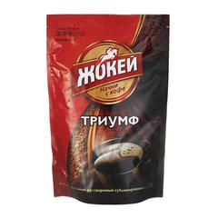 Кофе растворимый ЖОКЕЙ «Триумф», сублимированный, 280 г, мягкая упаковка