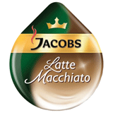 ������� ��� ��������� TASSIMO JACOBS «Latte Macchiato», ����������� ���� 8 ��. � 8 �, �������� ������� 8 ��. � 21,7 �