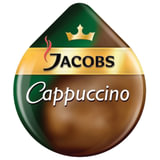 Капсулы для кофемашин TASSIMO JACOBS «Cappuccino», натуральный кофе 8 шт. х 8 г, молочные капсулы 8 шт. х 40 г