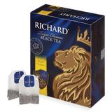 Чай RICHARD (Ричард) «Royal Ceylon» («Роял Цейлон»), черный, 100 пакетиков по 2 г
