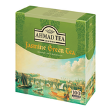 ��� AHMAD «Jasmine Green Tea», ������ � ��������, 100 ��������� � ��������� �� 2 �
