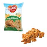 Печенье-крекер ЛЮБЯТОВО «Витаминный», 400 г, пакет