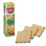 Печенье-крекер ЛЮБЯТОВО «С яблоком», 155 г, в спайке