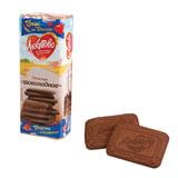 Печенье ЛЮБЯТОВО «Шоколадное», сахарное, 335 г, в спайке