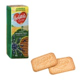 Печенье ЛЮБЯТОВО «Бодрое утро», сахарное, цельнозерновое, отруби с черникой, 300 г, в спайке