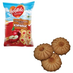 Печенье ЛЮБЯТОВО «Курабье», 400 г, пакет