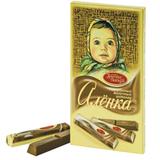 Шоколад КРАСНЫЙ ОКТЯБРЬ «Аленка», в стиках, 100 г, бумажная упаковка