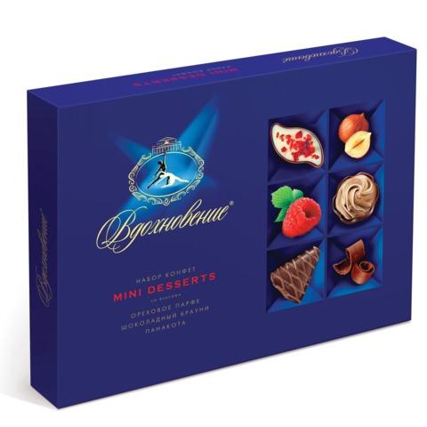 """Конфеты шоколадные КРАСНЫЙ ОКТЯБРЬ """"Вдохновение"""", маленькие десерты, 165 г"""