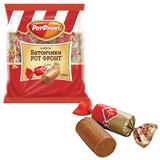 Конфеты шоколадные РОТ ФРОНТ «Батончики», 250 г, пакет