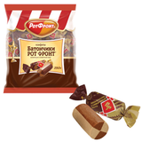 Конфеты шоколадные РОТ ФРОНТ «Батончики», шоколадно-сливочные, 250 г, пакет