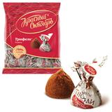 Конфеты шоколадные КРАСНЫЙ ОКТЯБРЬ «Трюфели», 250 г, пакет