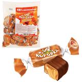 Конфеты шоколадные РОТ ФРОНТ «Коровка», ирисная, 250 г, пакет