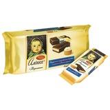 Пирожное КРАСНЫЙ ОКТЯБРЬ «Аленка», бисквит в шоколадной глазури, сливочный крем, 6 шт. х 40 г, пакет