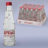 Вода негазированная минеральная АРХЫЗ, 0,25 л, стеклянная бутылка