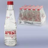 Вода газированная минеральная АРХЫЗ, 0,25 л, стеклянная бутылка