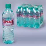 Вода негазированная минеральная АРХЫЗ, 0,5 л, пластиковая бутылка