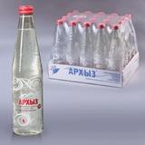 Вода газированная минеральная АРХЫЗ, 0,5 л, стеклянная бутылка