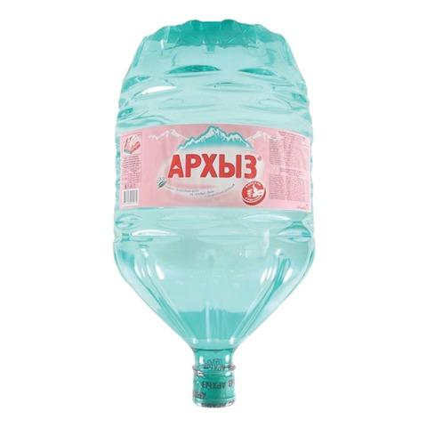 Вода негазированная минеральная АРХЫЗ, 19 л, пластиковая бутылка, невозвратная тара