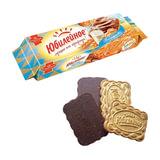 Печенье ЮБИЛЕЙНОЕ молочное с шоколадной глазурью, 116 г
