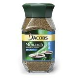 Кофе растворимый JACOBS MONARCH сублимированный без кофеина, 95 г, в стеклянной банке
