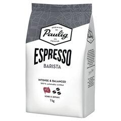 Кофе в зернах PAULIG (Паулиг) «Espresso BARISTA», натуральный, 1000 г, вакуумная упаковка, 16623