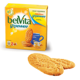 Печенье ЮБИЛЕЙНОЕ «BelVita Утреннее», витаминизированное, со злаковыми хлопьями, картоннная упаковка, 100 г