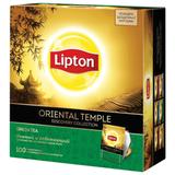 Чай LIPTON (Липтон) Discovery «Green Oriental Temple», зеленый, 100 пакетиков по 2 г