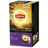 Чай LIPTON (Липтон) Discovery «Scandinavian Wild Berries», черный с ароматом лесных ягод, 25 пакетиков по 2 г