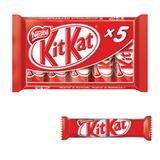Шоколадные батончики KIT KAT (Кит Кат) с хрустящей вафлей, мультипак, 5 шт. по 29 г (145 г)