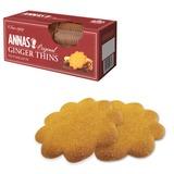 Печенье ANNAS «Ginger Thins» (Швеция), тонкое имбирное печенье, 150 г, картонная упаковка