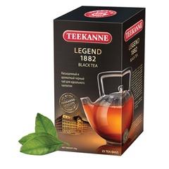 Чай TEEKANNE (Тикане) «Legend 1882», черный, 25 пакетиков по 2 г в конвертах, Германия