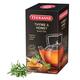 Чай TEEKANNE (Тикане) «Thyme & Honey», черный, чабрец/<wbr/>мёд, 25 пакетиков, Германия
