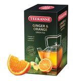 Чай TEEKANNE (Тикане) «Ginger&Orange», зеленый, имбирь/<wbr/>апельсин, 25 пакетиков, Германия