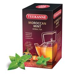 Чай TEEKANNE (Тикане) «Morrocan Mint», травяной, мята, 25 пакетиков, Германия