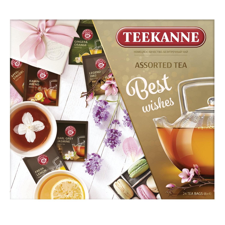 набор чая Teekanne ассорти 42 г
