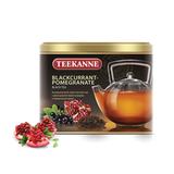 Чай TEEKANNE (Тикане) «Blackcurrant-Pomegranate», черный, смородина, гранат, листовой, 150 г, Германия