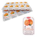 Джем порционный «Апельсин», спайка 20 шт. по 20 г, Руконт, Россия