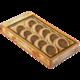 Печенье БИСКОТТИ (Россия) с орехами, глазированное, сдобное, 245 г, картонная коробка