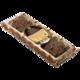 Печенье БИСКОТТИ (Россия) «Santa Bakery», шоколадное с фундуком, в шоколаде, сдобное, 100 г
