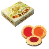 Печенье БИСКОТТИ (Россия) «Santa Bakery», ассорти 12 видов, сдобное, 750 г, картонная коробка