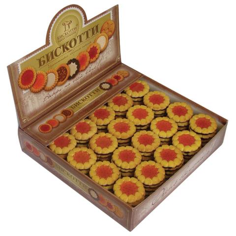 Печенье БИСКОТТИ (Россия) «Коста браво», с апельсиновым мармеладом, глазированное, 2 кг, шоу-бокс