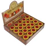 Печенье БИСКОТТИ (Россия) «Коста браво», с вишневым мармеладом, глазированное, 2 кг, шоу-бокс